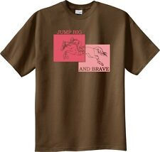 Jump Big and Brave Jumping Horse and Rider T-Shirt Multiple Colors & Sizes