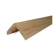 SOLID OAK WOODEN FLOOR STAIR NOSE 0.9M - UNBEATABLE PRICE, SERVICE & QUALITY