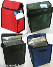 INSULATED COOL PICNIC SCHOOL LUNCH BAG BOX CHILDS KIDS GIRLS BOYS FOOD SANDWICH