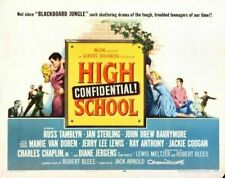 HIGH CONFIDENTIAL SCHOOL 03 B-MOVIE REPRODUCTION ART PRINT A4 A3 A2 A1