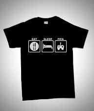 EAT SLEEP FIFA XBOX PS3 COD MW3 ADULT GIFT T SHIRT S-XXL LOTS OF COLOURS