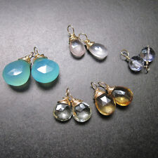 10 PASTEL Gemstone Mix 5 Pairs Drops for Interchangeable Jewelry