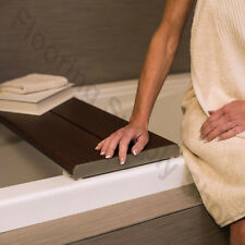Invisia Shower and Bath Benches Brazilian walnut Support up-to 500 lb