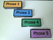 Reception Class / EYFS First 100 High Frequency flash cards, Phases 2-5 NEW