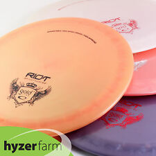 Latitude 64 Gold RIOT*choose your weight & color* disc golf driver Hyzer Farm