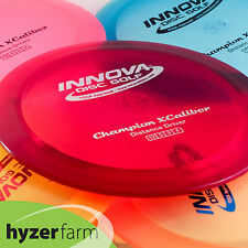 Innova CHAMPION XCALIBER *choose weight and color* disc golf driver  Hyzer Farm