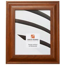 """Craig Frames Contemporary Upscale, 2"""" Canadian Walnut Brown Picture Frame"""