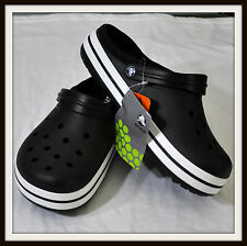 Crocs CROCBAND LINED Unisex Shoes Black 5 6 7 8 9 10 11 New with Tags Authentic