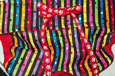 NEW! LULIBOOS DESIGNER DOG PANTY BRITCHES DIAPER STRIPE & DOT PRIMARY COLOR