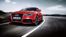 Red Audi RS5 CARS3077 Art Print Poster A4 A3 A2 A1
