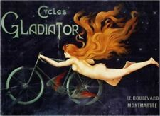 Vintage Poster Cycles Gladiator VCP091 Art Print Poster A4 A3 A2 A1