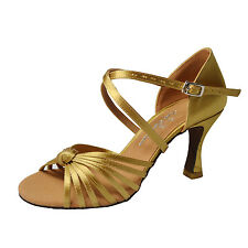 *6 COLORS AVAILABLE PROFESSIONAL WOMEN'S LATIN BALLROOM DANCING SHOES_S233