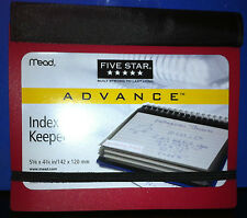 Mead Five Star Index Card Keeper Holder School College Notes Math Coupons Cards
