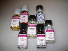LorAnn Oils GOURMET Flavor CANDY Flavoring EXTRACTS 1 fl Dram FREE SHIPPING B