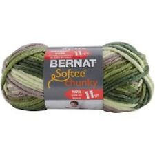Bernat Softee Chunky Ombres Super Bulky Acrylic Knitting Crocheting Yarn