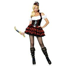 Pirate Girl Costume Adult Sexy Wench Halloween Fancy Dress