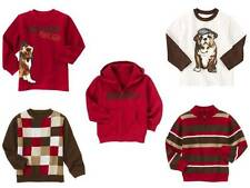 Boys GYMBOREE NWT EMPIRE STATE EXPRESS Bulldog Tee Shirt Sweater Hoodie 4 S 5 6