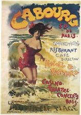 Vintage Advertisment Poster Cabourg WIA005 Art Print A4 A3 A2 A1