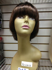 NISANA BY VANESSA FIFTH AVENUE COLLECTION SYNTHETIC WIG SHORT STRAIGHT HAIRSTYLE