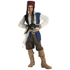 Captain Jack Sparrow Classic Pirates of the Caribbean Kids Halloween Costume
