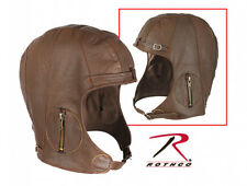 Rothco Leather Pilot Helmet in Brown
