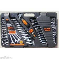Tool Set 24 Piece SAEMetric Case Home Business Wrenches Auto Crafts