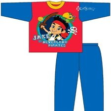 Boys Jake and The Neverland Pirates Long Pyjamas Ages 1-4 Years