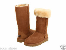 UGG AUSTRALIA WOMEN'S SHOES CLASSIC TALL CHESTNUT 5815 GENUINE BOOT NEW UGG SALE