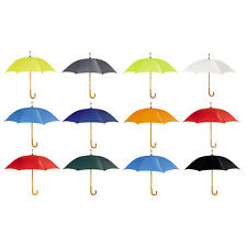"""Classic umbrella with wooden grip. Opens manually. (104Cm/ Approx. 42"""")"""