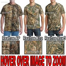Russell Outdoors Realtree Camo T-Shirt 100% Cotton Camouflage S-3XL NEW