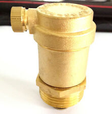 BRASS AUTOMATIC HOT WATER AIR VENT HEATING VALVE