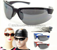 ANSI Z87.1 Cycling Running Golf Tennis Sports sunglasses blue frame orange frame