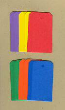 Your choice of colors on Squared Gift Tags #2 Die Cuts - AccuCut