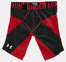 Under Armour UA 9 in Coreshorts Prima Red / Black 1232703 SMALL NWT