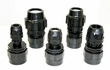 """IBC ADAPTER (2""""S60X6) to Single COMPRESSION Pipe Fitting 20/25/32/40/50mm"""