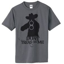Cowboy with a Double Barrel Shot Gun T-Shirt All Sizes S - 4X Dont Tread on Me