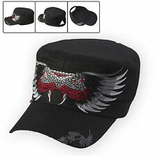 J2R Brand New Legendary Snake Embroidered Experts Embroidery WorkCap Hats Black