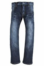 NAME IT coole Slim Fit Jeans Hose Leopol blau in Gr.92-164 NEU!