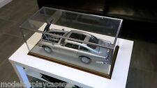 1:8 ASTON MARTIN DB5 1964 - BUILD YOUR OWN MODEL - GLASS DISPLAY CASE ONLY