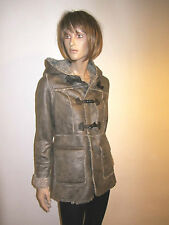 LADIES WOMENS DUFFLE TOGGLE HOODED COAT - Ex New Look - JACKET WINTER COATS