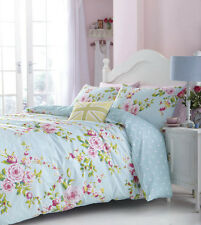 Catherine Lansfield CANTERBURY Floral Bedding Choose Single, Double Or King