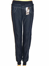 NEW WOMENS ALIBABA/HAREM SIZE 8 TO 18  ELASTICATED WAIST CUFFED ANKLE JEANS