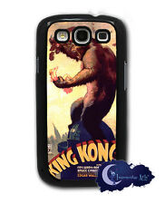 King Kong 1933 Movie Poster - Samsung Galaxy S3, SIII Case Cell Cover