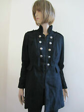 NEW LADIES ARMY JACKET -Ex New Look-  in BLACK  COLOUR SIZE 14 BNWOT