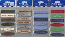 Assorted PAPER BLISS STICKERS 3D Your Choice PHRASES HOLIDAY FLORAL TAGS  & more
