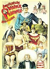Victorian German Freak Show Circus  Poster A3 Print