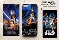 Star Wars Vintage Poster iPhone 5 4 4s Case Movie Sci-Fi Retro Lucas Jedi Vader