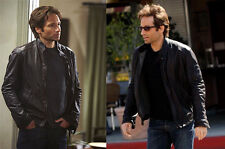 NEW REPLICA CALIFORNICATION HANK MOODY BLACK GENUINE LEATHER JACKET