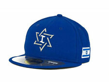 Official 2013 WBC Israel World Baseball Classic Fitted Hat Cap New Era