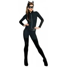 Catwoman Costume Adult Womens Sexy Female Superhero Halloween Fancy Dress